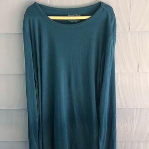 Simply Vera Vera wang long sleeve shirt size XL